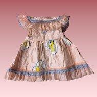 Darling Vintage Doll Apron 1950s