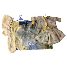 Nine Piece Baby Doll Layette for Dy-Dee, Tiny Tears and Friends 1950s