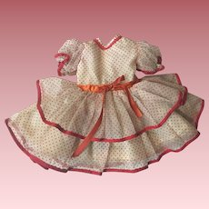 Original Ideal Shirley Temple Dress 1950s