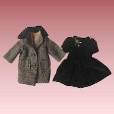 Original Arranbee Nancy Lee Dress and Coat 1940s