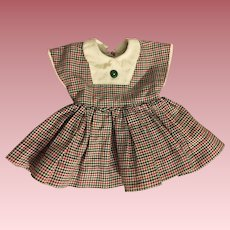 Original and Tagged Terri Lee Dress 1950s