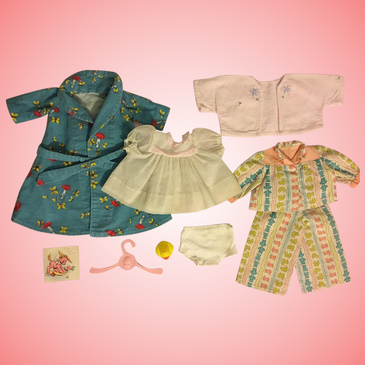"""Betsy Wetsy Dy Dee Vintage Baby Doll Clothes Dress Pattern 15/"""" 16/"""" Tiny Tears"""