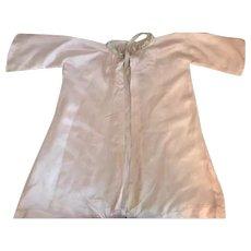 Pretty Pink Silk Baby Robe 1920