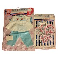 Two Premiere Baby Doll Outfits 1960s