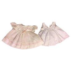 Organdy Baby Doll Dress and Slip 1950