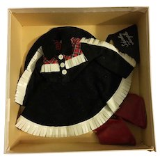 Rare MIB Ideal Shirley Temple Cowgirl Outfit 1950s