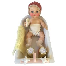 Effanbee Baby, Bathtub and Lots of Accessories
