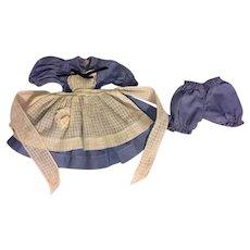 American Character Sweet Sue Alice in Wonderland Dress 1952