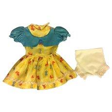 Animal Print Dress for Large Hard Plastics like P92 and P93 Ideal Toni