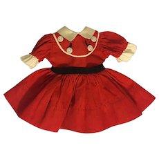 Original Ideal Betsy McCall Dress 1952