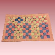 Lovely Vintage Doll Quilt 1940