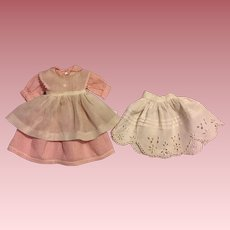 Three Piece China Head Doll Outfit 1940s