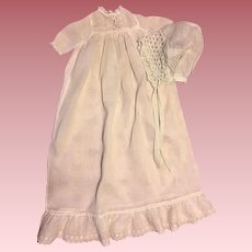 Antique Doll Christening Gown