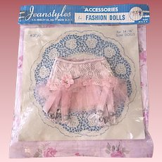 Mint in Package Jeanstyles Pink Frilly Girdle 1950s