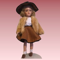 """Arranbee 18"""" Debuteen Doll 1930s"""