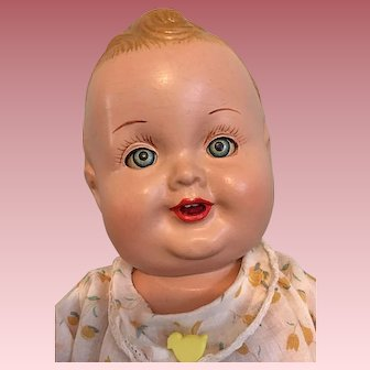 """Hard to Find Baby Sandy Composition Doll 12"""""""