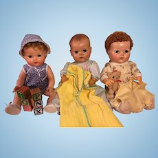 Six Piece Layette for American Character Tiny Tears and Friends 1950s
