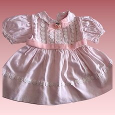 Pink Dress for Chubby Toddlers and Babies 1950