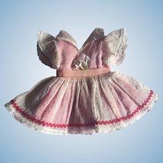 Original Ideal Toni Walker Doll Dress 1950s