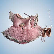 Arranbee Littlest Angel Ballerina Outfit with Shoes 1950s