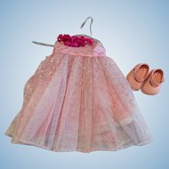 Arranbee Littlest Angel Ballgown and Shoes 1950s