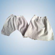 567940d702a Slip and Pantaloons for Bisque Dolls 1800s   Camelot Studio Vintage ...