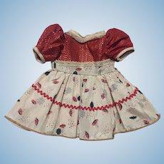 Taffeta Doll Dress 1950