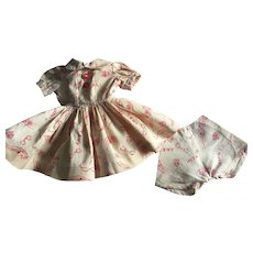 Novelty Dress and Underwear for Hard Plastic Dolls 1950s