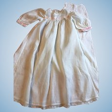Antique Gown for Baby Dolls early 1900s