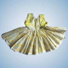 "Dress for 22"" Saucy Walker 1950s"
