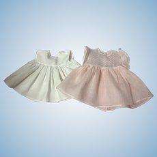 EARLY Original American Character Tiny Tears Dress 1950