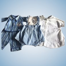 Sweet Layette in Blues for Tiny Tears and Friends 1950s