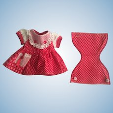 Arranbee Littlest Angel Dress and Underwear 1950s