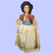 Hauntingly Beautiful Petite Boudoir Doll Germany Excellent