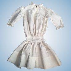 Antique Dress for Large Bisque Dolls 1890