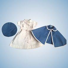 Civil War Nurse Outfit for Bisque Dolls