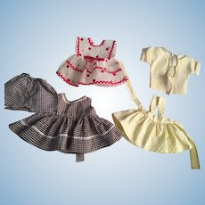 Three outfits for Littlest Angel and Friends 1950s