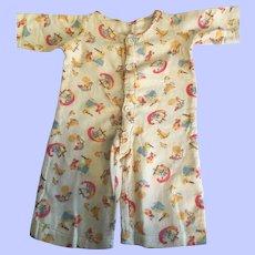 Effanbee American Child Pajamas 1930s