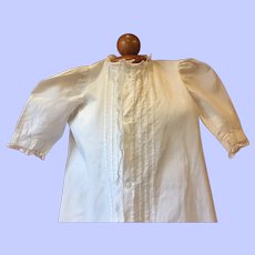 Antique Christening Gown Large Dolls 1880