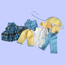 Nine Piece Layette Set for Tiny Tears and Friends 1950s