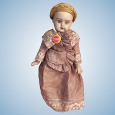 Rare Russian Antique Doll from the Dunaev Factory
