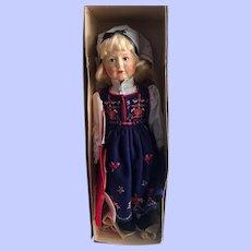 """Beautiful Mint in Box 17"""" Ronnaug Petterssen Cloth Doll"""