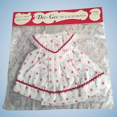 Mint in Package Baby Doll Outfit 1950s