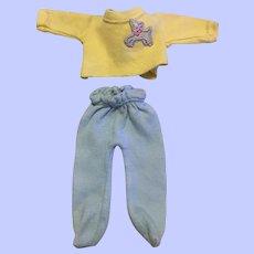 Arranbee Littlest Angel Pajamas 1950s