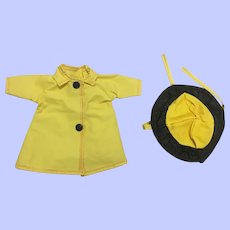 Arranbee Littlest Angel Raincoat and Hat 1950s