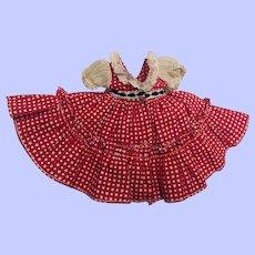 Arranbee HTF Littlest Angel Square Dance Dress #620 1957