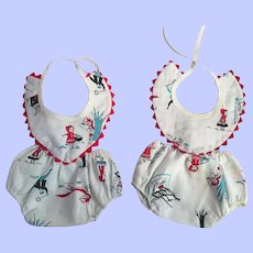 Twin Rompers for Tiny Tears and her Friends