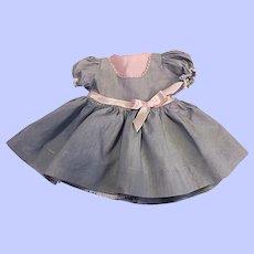 Original Ideal Saucy Walker Doll Dress 1952