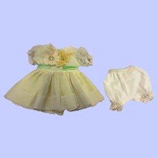 Arranbee Littlest Angel Party Dress and Underwear 1950s
