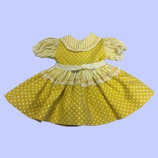 """Original Ideal 16"""" Saucy Walker Dress 1952"""